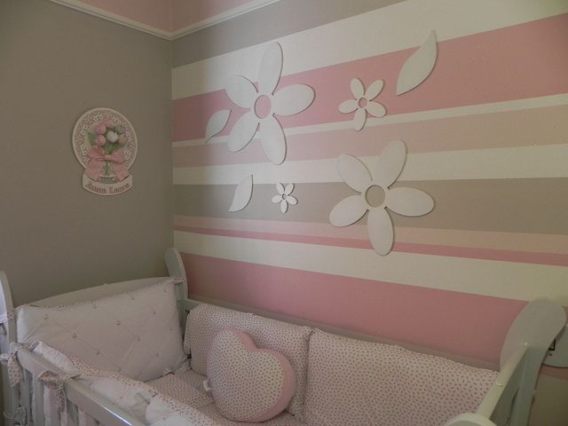 Quarto Anna Laura by Adriane Beatriz para Tetê, via Flickr