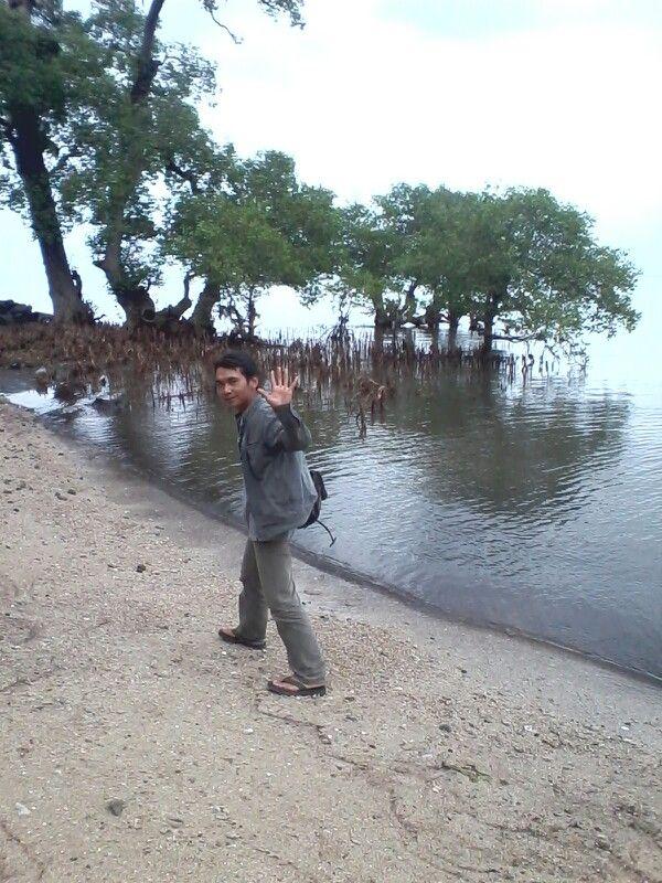 #PINDONESIA at Pasir Putih Situbondo. Pantai bersih dan keindahan hutan Bakau.