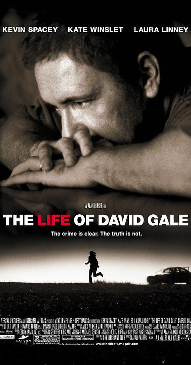 The Life of David Gale (2003) on IMDb: When anti-death-penalty activist David Gale is convicted and condemned to death for the murder of a colleague, reporter Bitsey Bloom sets out to learn