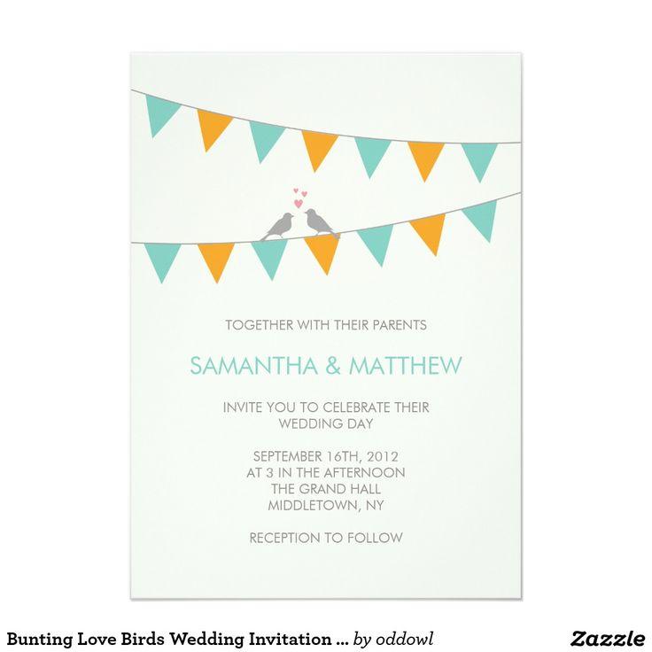 30 best Wedding invitations images on Pinterest