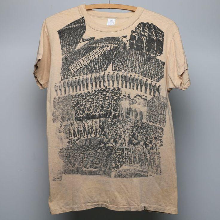 1979 Elvis Costello Armed Funk Tour Shirt
