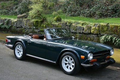 To some it was an MG clone, but I always liked the Triumph TR6