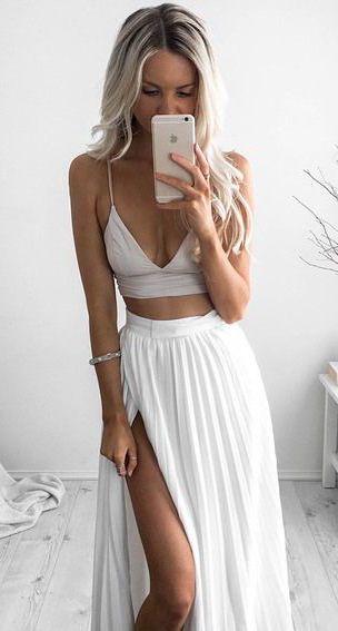 summer fashion blanc