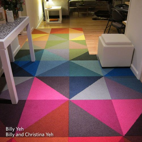 Carpet Tile Design Ideas