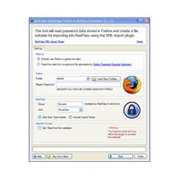 It's a free way to import passwords exported from a Firefox Browser into the KeePass Password Application. It should also work with Thunderbird, Flock and Songbird!