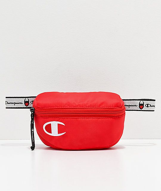 d0d1e83917fd Champion Attribute 2.0 Red Fanny Pack in 2019 | bags | Champion ...