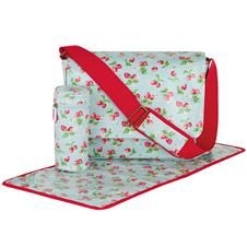 cath kidston nappy bag strawberry blue