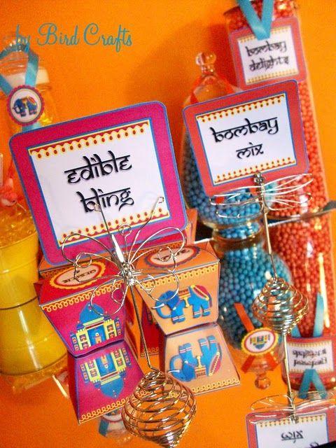 Oosters feestje - Lettertype