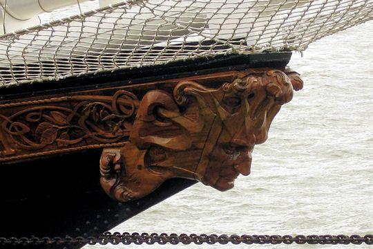 Le Capitan Miranda uruguayen : Figures de proue - Linternaute.com Mer et Voile