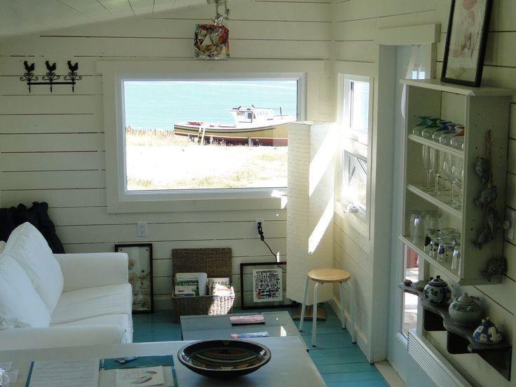 Tiny Cottage interior on Les îsles De La Madeleine.