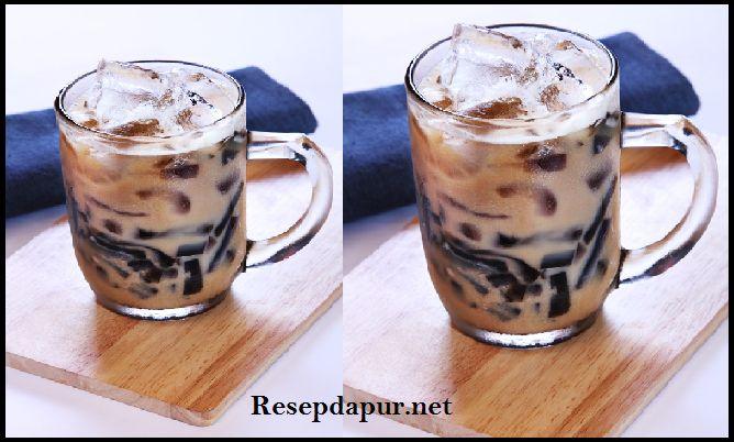 Resep Membuat Es Teh Tarik Cincau Segar dan Enak | ResepDapur.net