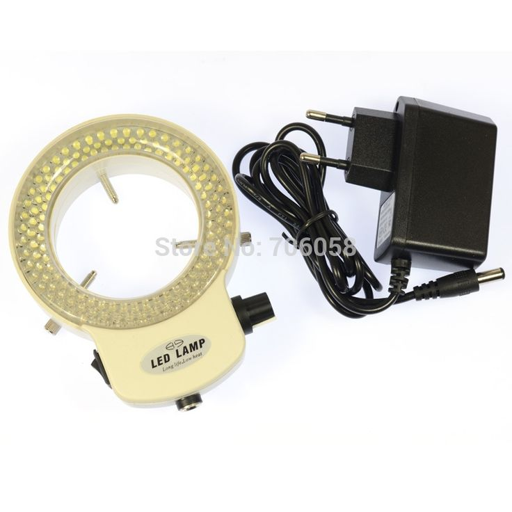 29.54$  Buy now - http://ali20j.shopchina.info/go.php?t=32257809167 - Adjustable 144 LED Ring Light illuminator Lamp For Industry Stereo Microscope Digital Camera Magnifier with Power Adapter White  #aliexpress