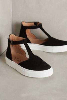 KMB T-Strap Sneakers