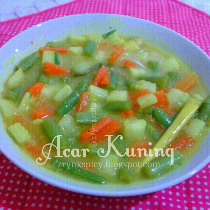 :: ACAR KUNING » zrynxspicy.blogspot.com/2014/12/acar-kuning.html