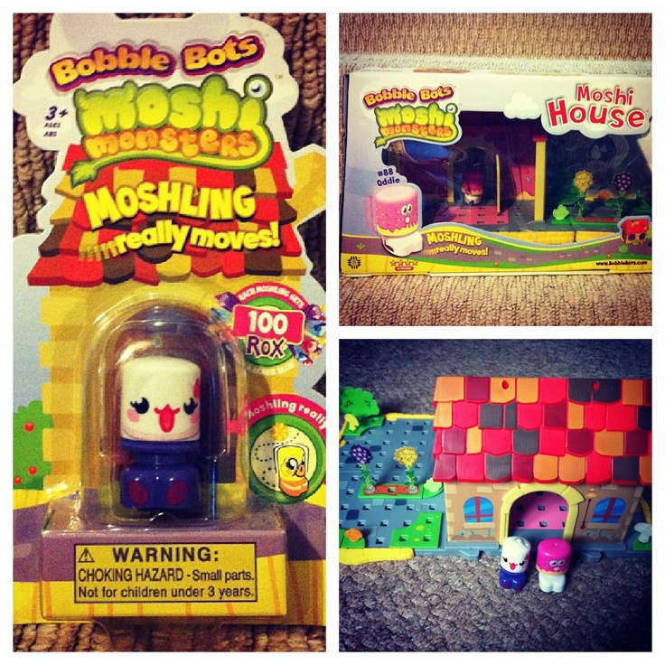 Mama OWL: Moshi Monsters Bobble Bot House & Figure Review