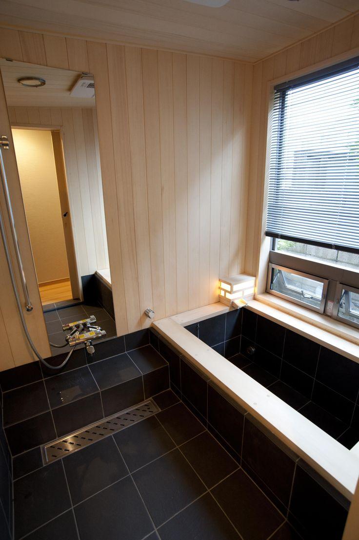 造作浴室(和風旅館を思わせる家) - バス/トイレ事例 SUVACO(スバコ)