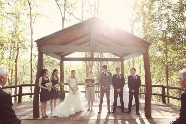 Walk About Creek Wedding Ceremony Venue - Located only 12 km from Brisbane's CBD.