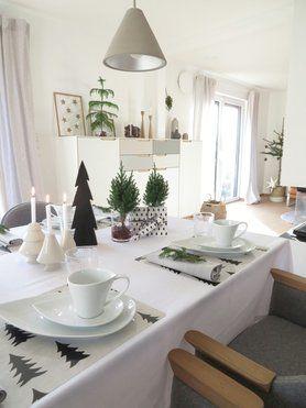 adventsNACHMITTAG Aller... Foto: Mitglied glücks kind #esszimmer #dinigroom #weihnachtsdeko #christmasdecoration