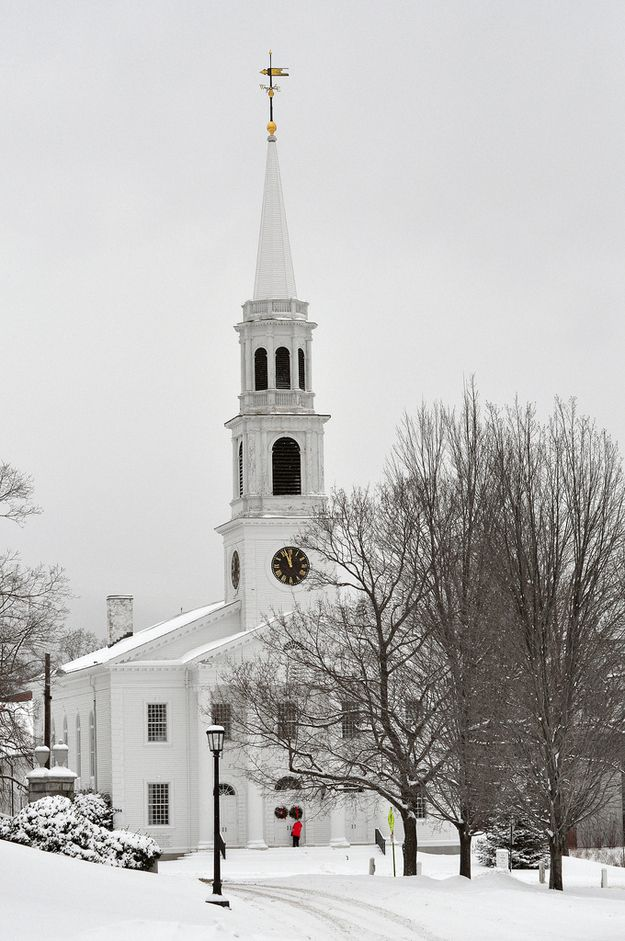 Flickr Images Middlebury College | The Most Winter Wonderful College Campuses