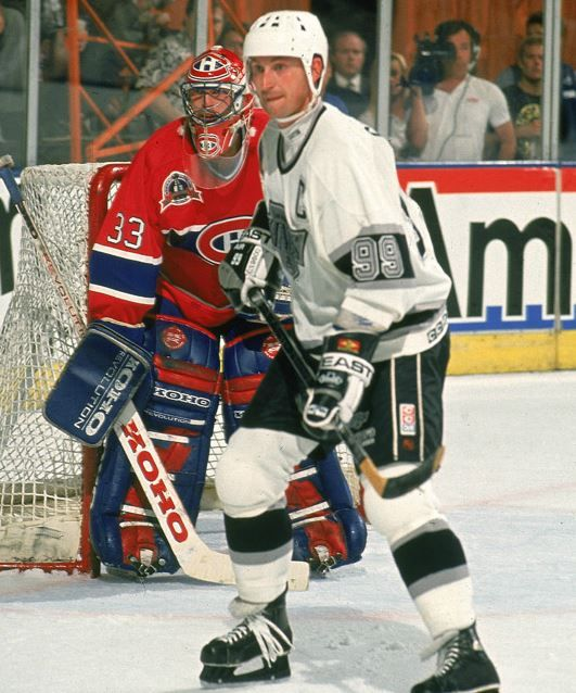 Patrick Roy and Wayne Gretzky, 1993 Stanley Cup Final