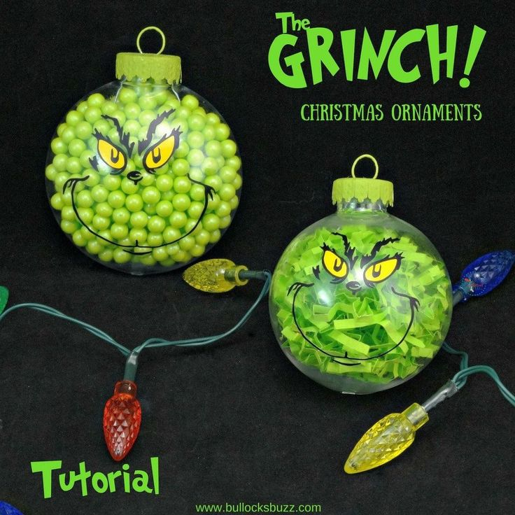 Christmas Decorations The Grinch: Best 25+ Grinch Ornaments Ideas On Pinterest