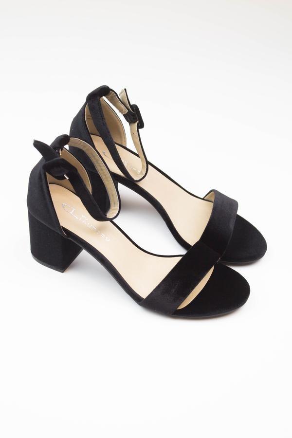 7690fa9fa88 Jessica Block Heel Sandal - Black - Chinese Laundry