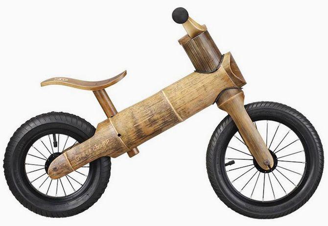 천연 대나무로 만든 신개념 '어린이 자전거' 탄생