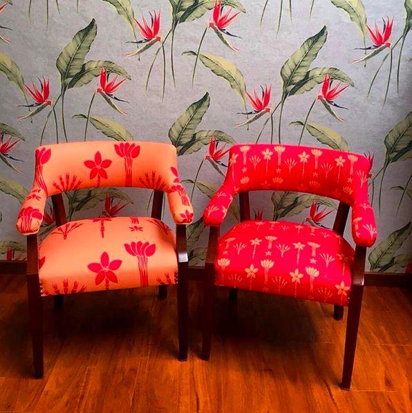 So gratifying when my clients send me pictures of what they have done with my fabrics, here collection ASITA/ muy gratificante cuando mis clientes me mandan fotos de lo que han hecho con mis telas, acá colección ASITA#lottihaeger #art #arquitectura #architecture #chair #color #colour #colorful #decor #design #designer #decorating #decoration #deco #fabric #flowers #furniture #homedecor #homestyling #home #interior #interiordesign #merakiudiseño #merakiudecoracion #tropical