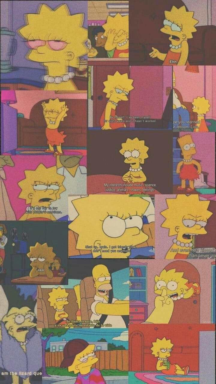 Sad Aesthetic Pictures Simpsons