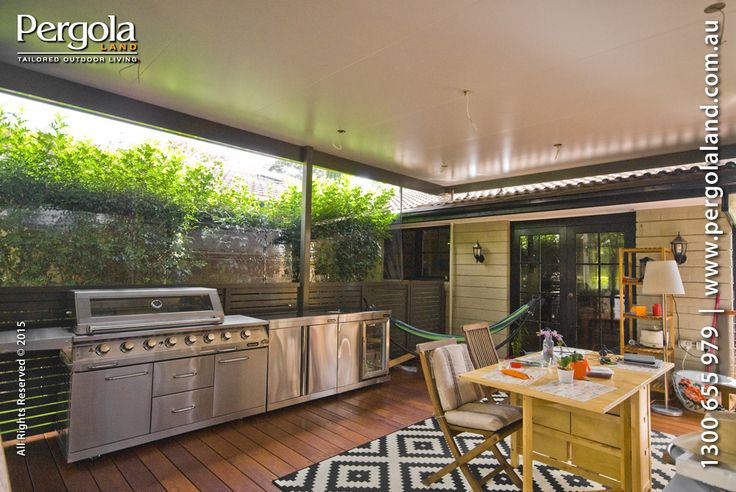 Living the outdoor room. The use of PVC 'Bistro' blinds can help effectively create a weather protected room that does not become classified as a 'Habitable Room'.   For  Sydney local councils, Pergolas and Patio Covers are classed as 'Non Habitual Rooms', 'Habitual Room' would apply if you affixed any form of permanent walls and doors and the difference between the two classifications can be thousands of dollars in approval fee's.  Of course, why create just another indoor room?