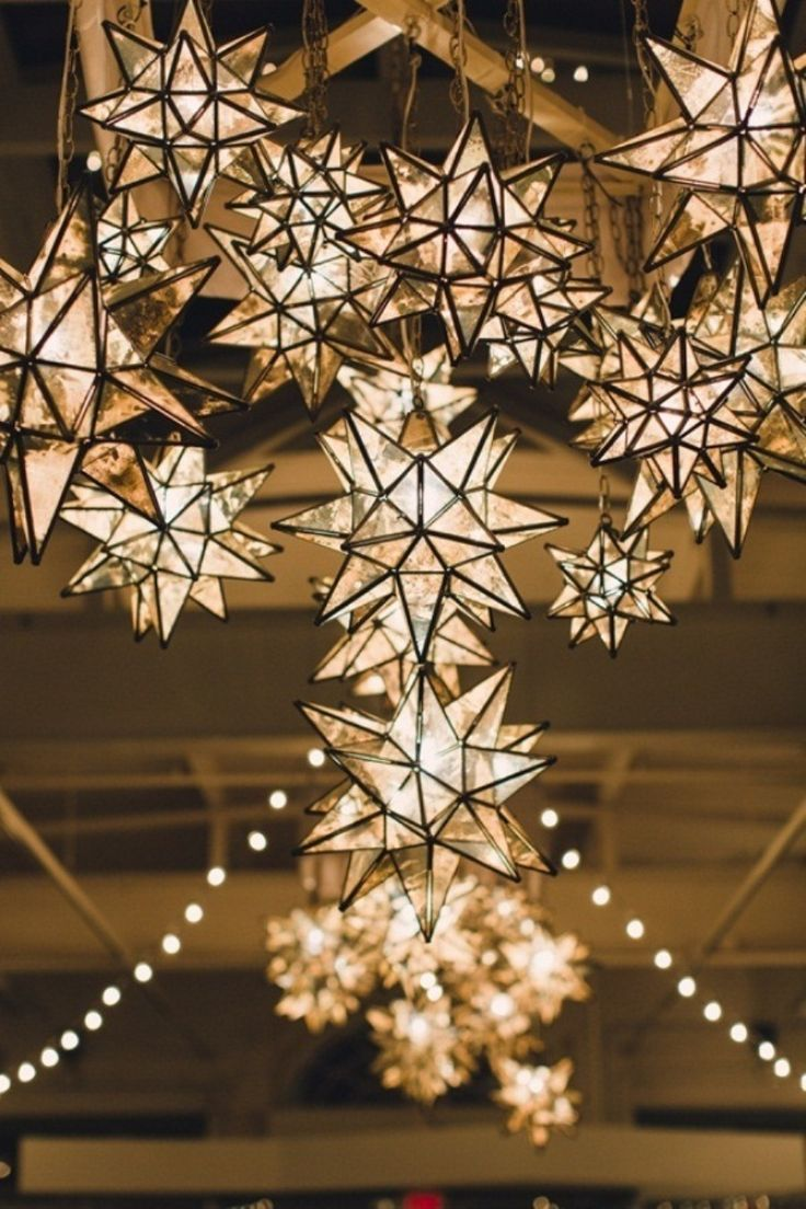 Decorative lights for weddings - Magnificent Light Decor To Add A Luxurious Touch To Your Starry Night Weddings