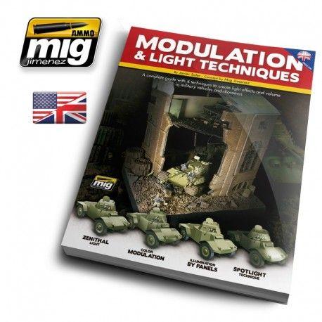 Gids voor modulatie en licht technieken. Een visuele, 106 pagina's tellende gids in full color door  Mig Jimenez & Javier Soler.