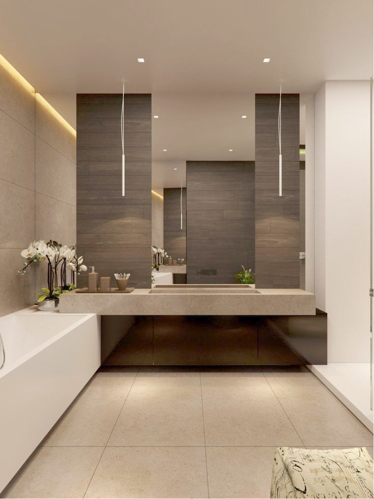 Modern Bathroom Ideas Without Bathtub Like Bathroom Vanities Brands Most Bathroom Decor Earth Tones C Modern Bathroom Design Bathroom Interior Modern Bathroom