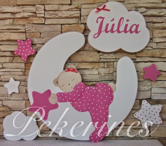 165 best images about para habitaciones infantiles on for Decoracion sencilla habitacion nina