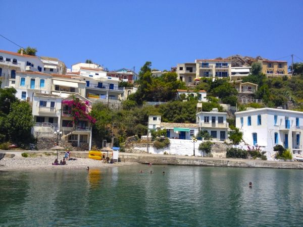 Seaside village of Evdilos