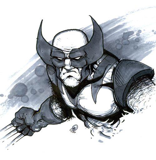 herochan:  Wolverine Art by Chris Bones