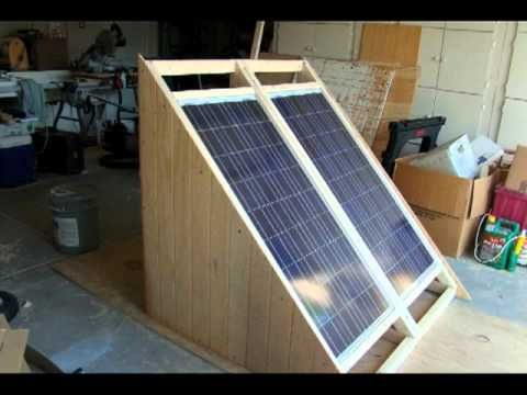 Build a Solar Power Generator for Under $300