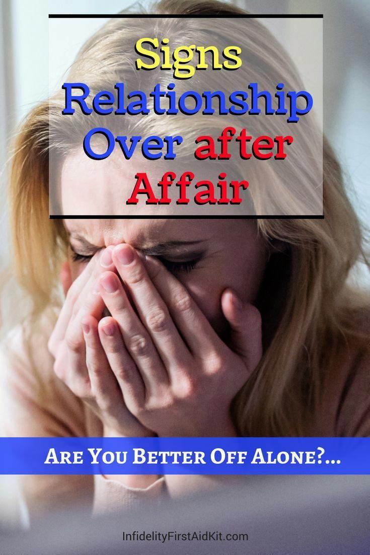 is my affair over