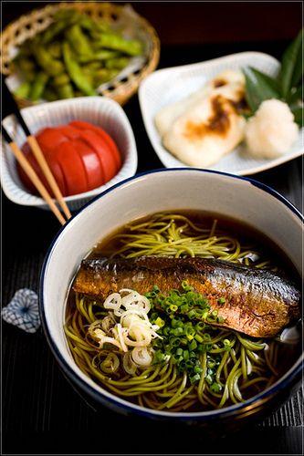 にしんそば #japanese #food #fish