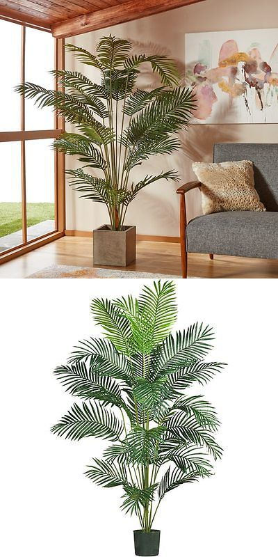 Tree Stands Skirts and Storage 166726: Paradise Palm 7 Ft Silk Tree Fake Polyester Tropical Accent Home Office Décor -> BUY IT NOW ONLY: $115.9 on eBay!