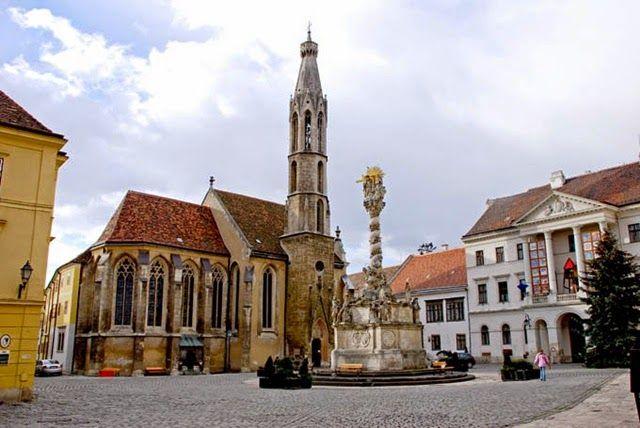 ITTHON VAGY - NÉZZ KÖRÜL NÁLUNK...: Kecske-templom - Sopron  /  Többi képért katt a po...