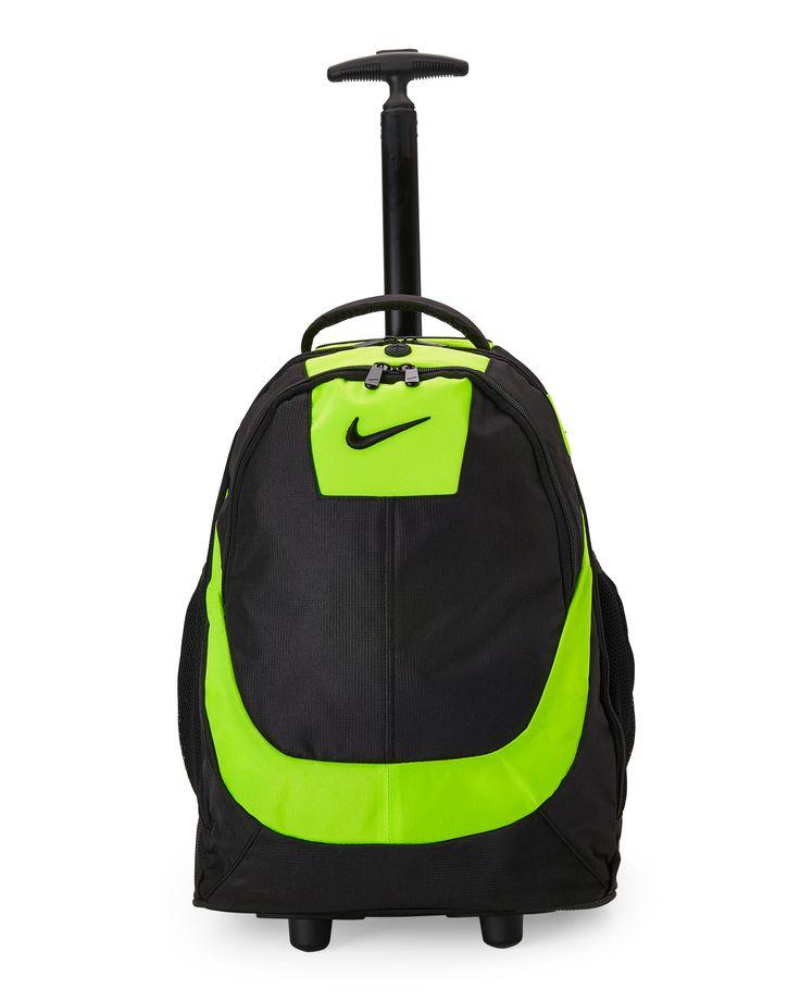 Nike Green & Black Rolling Backpack                                                                                                                                                                                 More