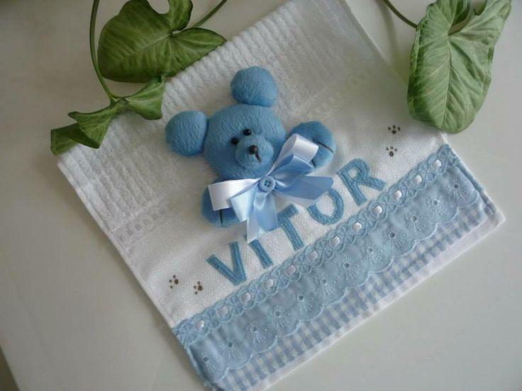 toalha de bebe