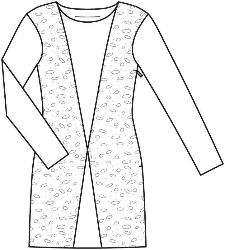 Платье - выкройка № 4 H из журнала 2/2014 Burda. Шить легко и быстро – выкройки платьев на Burdastyle.ru