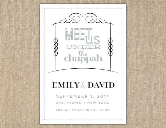 under the chuppah dating