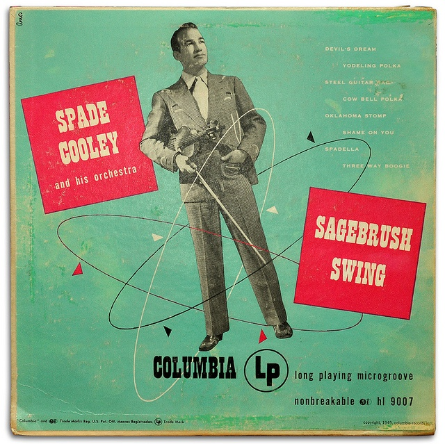 14 best country album art images on pinterest country music spade cooley king of western swing went on to murder his wife and spend fandeluxe Choice Image