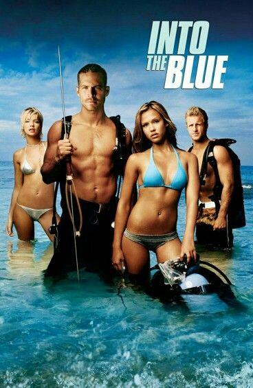 Into the Blue got release in 2005 starring Paul Walker Jessica Alba Scott Caan & Ashley Scott