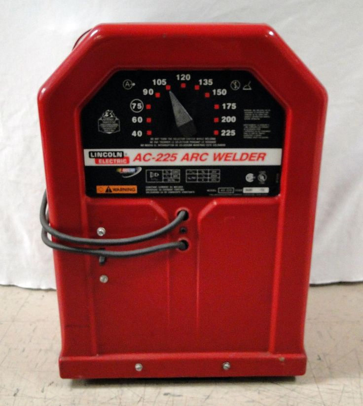 Lincoln Electric AC-225 Amp Arc Welder Stick Welding 230V Single Phase Nascar #Lincoln #Electric #arch #arc #ark #welder