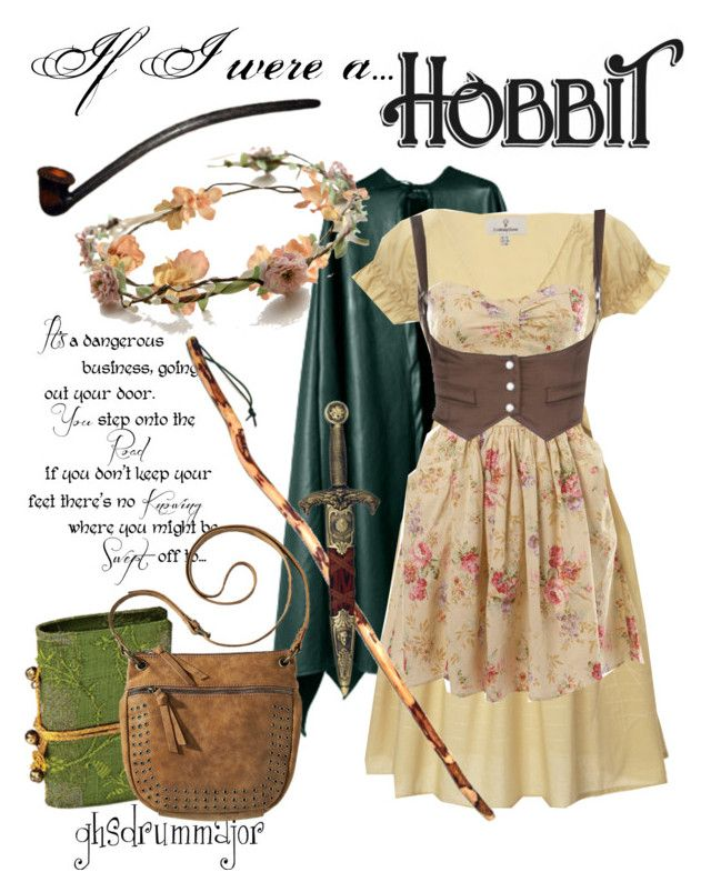 """""""If I were a Hobbit"""" by ghsdrummajor ❤ liked on Polyvore featuring Looking Glass, Miss Selfridge, eliurpi, Mossimo, KING, lotr, hobbit and tolkien"""