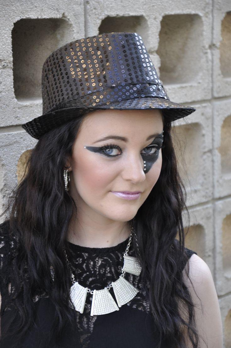 Costume makeup - Magican assistant  Study hair & beauty: www.chisholm.edu.au